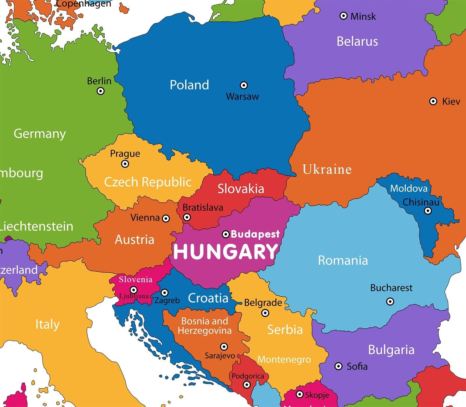 autriche carte du monde L'autriche sur la carte du monde   Autriche carte dans la carte du